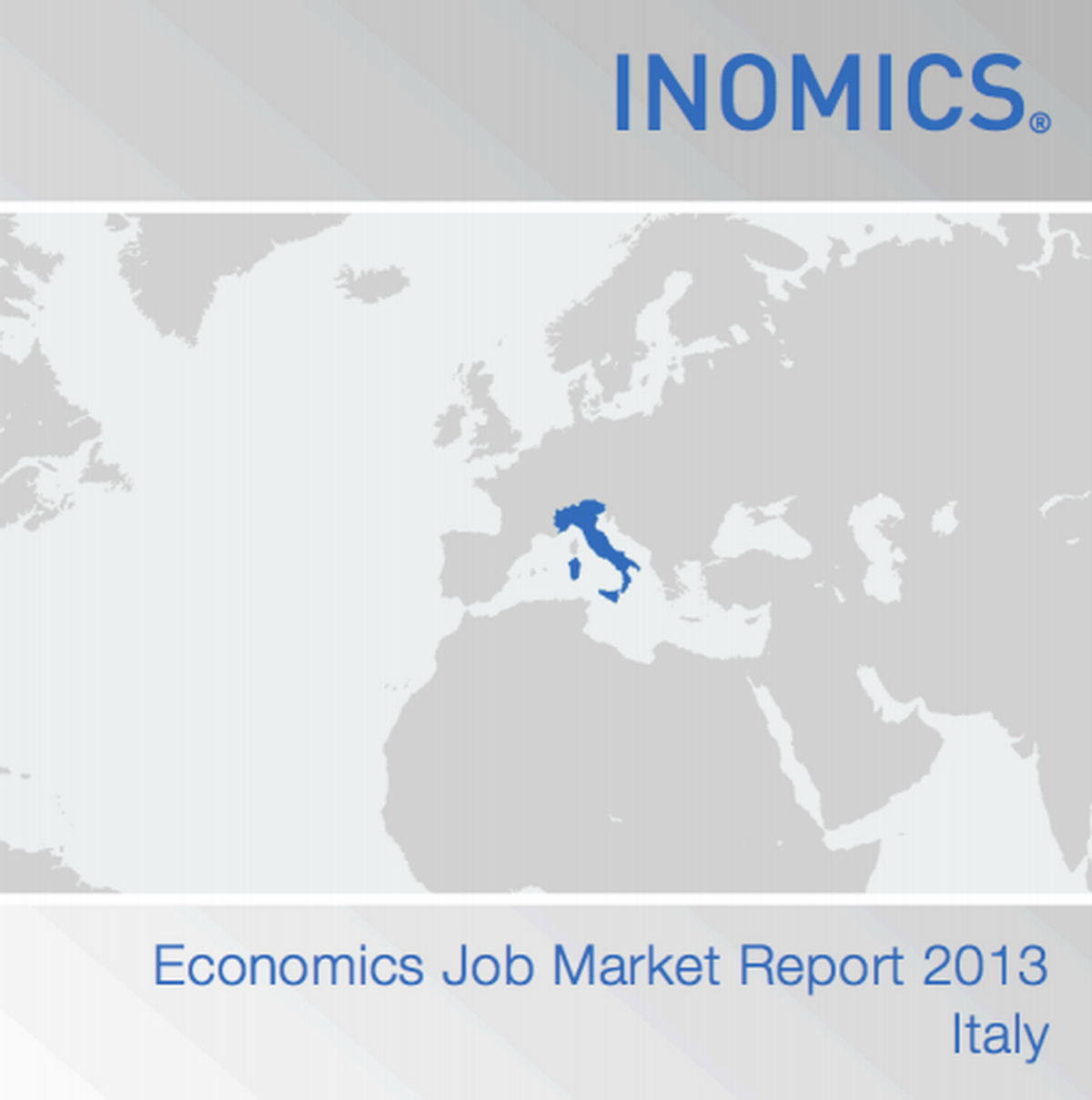 economics job market report 2013 italy inomics. Black Bedroom Furniture Sets. Home Design Ideas